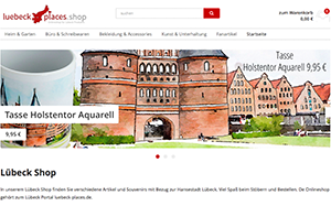 Screenshot Lübeck Shop