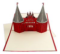 3D Karte Holstentor