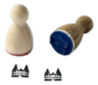 Mini-Stempel Holstentor