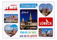 Lübeck Sticker-Card