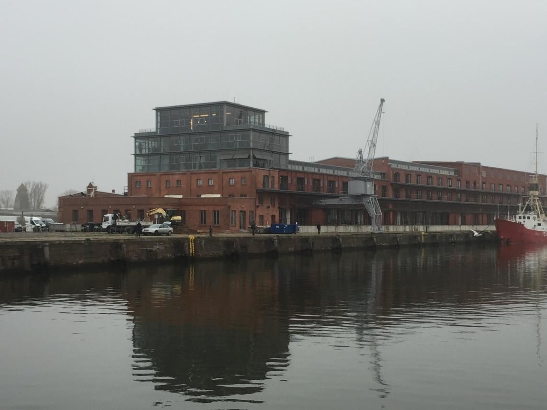 Hier soll der neue Hafen in der Innenstadt entstehen