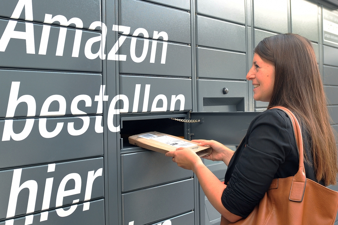 Amazon Locker in Lübeck (Bild Amazon)