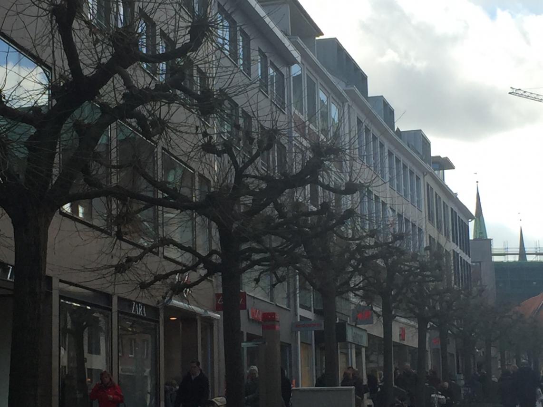 Fußgängerzone in Lübeck