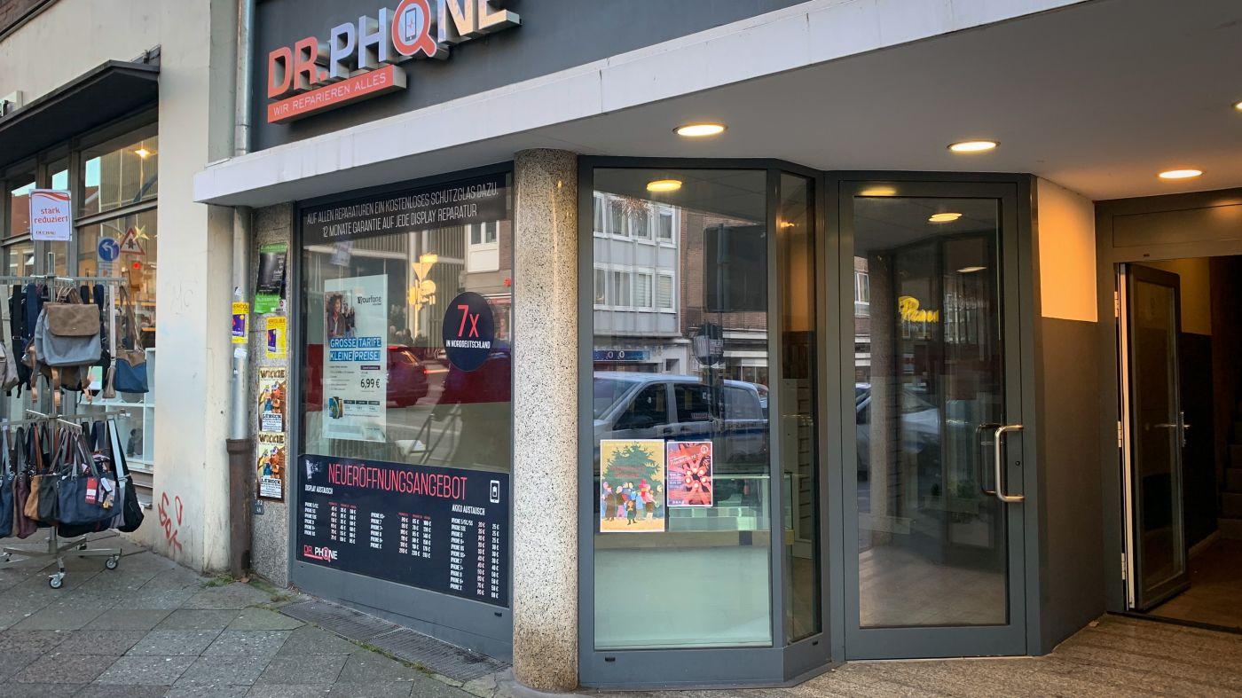 Dr. Phone in der Holstenstraße Lübeck