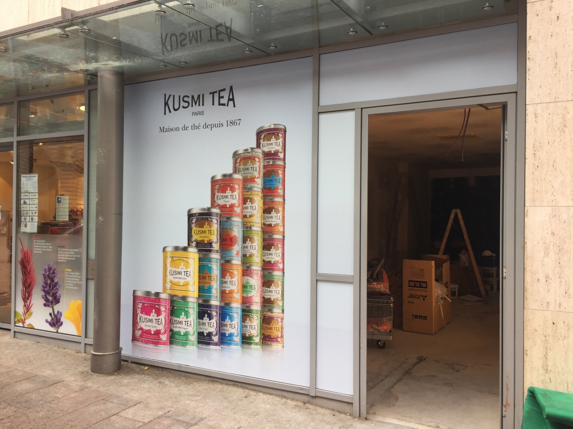 Kusmi Tea in Lübeck