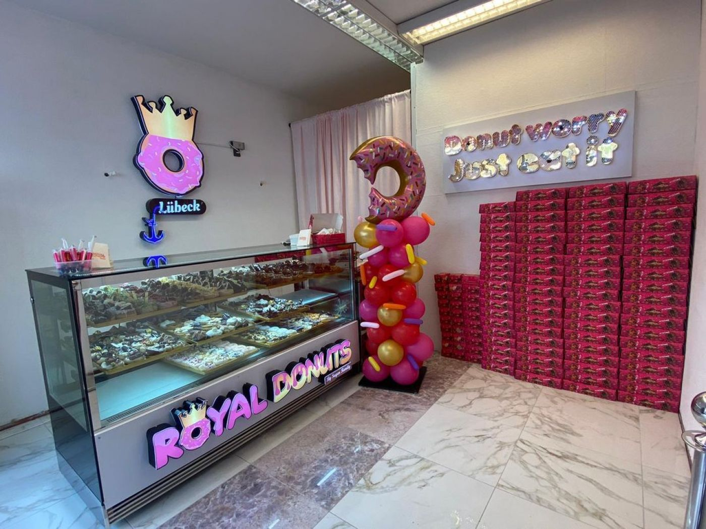 Royal Donuts Shop in Lübeck